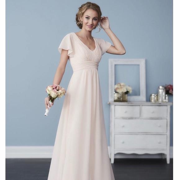 07d699734d5f Christina Wu Dresses | Blush Bridesmaid Dress Never Worn | Poshmark